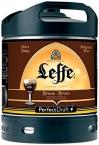 Leffe Brune - Barril cerveza 6 litros Perfect Draft